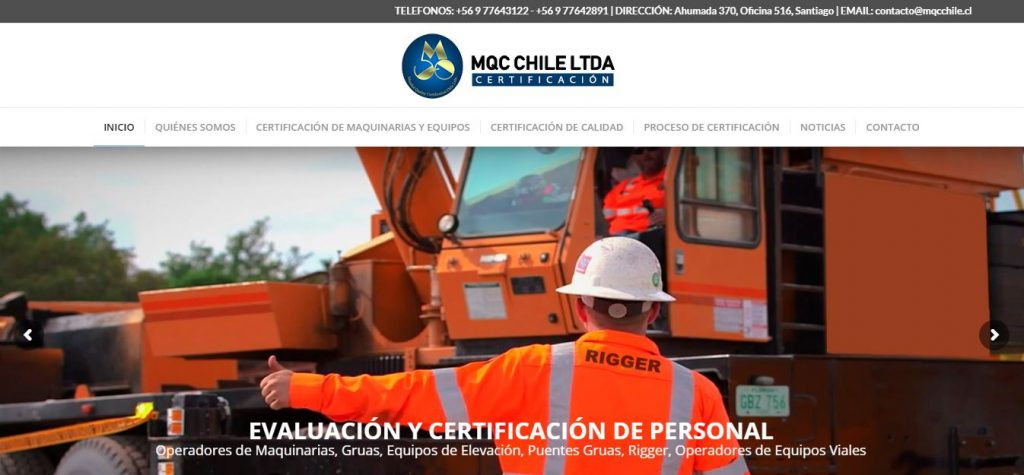 MUNDIAL QUALY CERTIFICATION CHILE